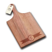 Richwood Creations Ribbon Banner Handle Cutting Board; E