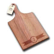 Richwood Creations Ribbon Banner Handle Cutting Board; J