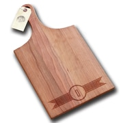 Richwood Creations Ribbon Banner Handle Cutting Board; Q