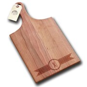 Richwood Creations Ribbon Banner Handle Cutting Board; X