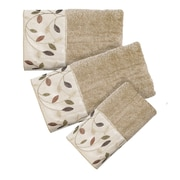 Popular Bath Products Aubury 3 Piece Towel Set; Beige