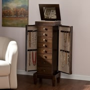 Wildon Home   Marian Jewelry Armoire with Mirror