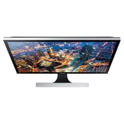 "Samsung LU28E590DS/ZA 28"" LED Monitor, High Glossy Black/Metallic Silver"