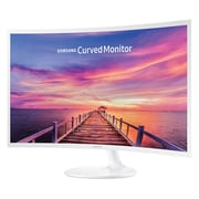 "Samsung LC32F391FWNXZA 32"" Curved LED Monitor, High Glossy White"