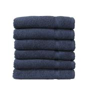 Linum Home Textiles Denzi 6 Piece Washcloth Set (Set of 6); Twilight Blue