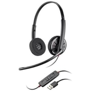 Plantronics® Blackwire® C320-M Monaural Headset, Black