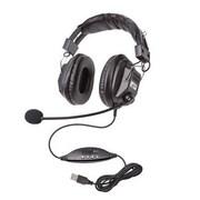 Califone® 3068 Headset with Boom Mic, Black