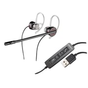 Plantronics® Blackwire® 435 USB Corded Headset, Black