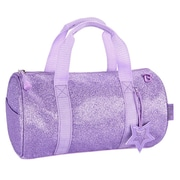 Bixbee® Sparkalicious Purple Glitter Small Duffle Bag (303017)