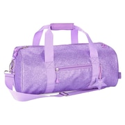 Bixbee® Sparkalicious Purple Glitter Large Duffle Bag (303018)