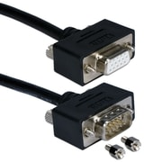 QVS® CC320M1 25' High Performance Ultra Thin VGA/QXGA Male/Female Fully-Wired Extension Cable