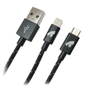 EP Memory GorillaDrive™ 3' USB/Micro-USB Data Transfer Cable, Black (EP-GMC3)