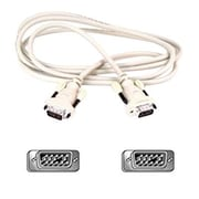 Belkin™ F2N028A06 Pro Series 6' HD-15 to HD-15 Male/Male PC Monitor Cable, Beige