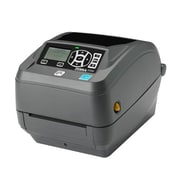 Zebra® GX420t Monochrome Direct Thermal/Thermal Transfer Desktop Printer, 203 dpi, Gray (GX42-102411-150)