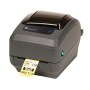 Zebra® GK420t Monochrome Thermal Transfer Desktop Printer, 203 dpi, Black (GK4H-102210-000)