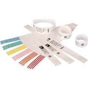 "Zebra® Z-Band Direct Wristband Cartridge Kit, 1"" x 7"", White (10006999K)"