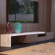 Modani TV Stand; Walnut