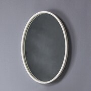 DecoLav Lola Framed Mirror; White