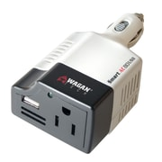 Wagan Smart AC 80W Continuous / 220W Peak USB Power Inverter