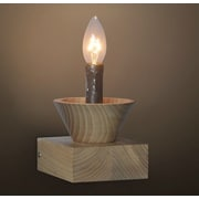 Westmen Lights Retro Natural Wooden Candle Light Table Lamp