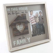 Fetco Home Decor Cleary Fun Love Family Picture Frame