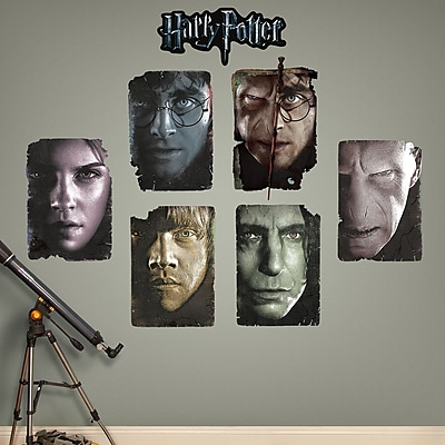 Fathead Harry Potter Paper Portrait Peel and Stick Wall Decal