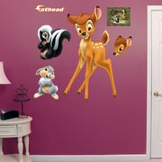Fathead Disney - Bambi and Friends Peel and Stick Wall Decal