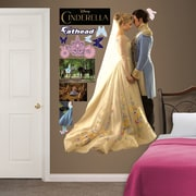 Fathead Disney Cinderella and Prince Charming Peel and Stick Wall Decal