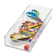 Whitmor, Inc Small 3 Section Drawer Organizer