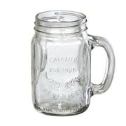 Artland Oasis 16 oz. Mason Jar w/ Handle (Set of 4)