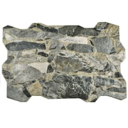 EliteTile Saunter 15.75'' x 23.75'' Porcelain Tile in Grafito