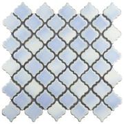 EliteTile Pharsalia 2'' x 2.25'' Porcelain Mosaic Tile in Frost Blue