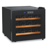 Wine Enthusiast Companies Silent 12 Bottle Freestanding Wine Refrigerator