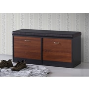 Wholesale Interiors Baxton Studio Foley Wood Storage Entryway Bench