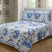 Simple Luxury Superior 300 Thread Count 100pct Cotton Sheet Set; Twin XL