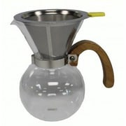 Crucial 400ML Pour Over Coffee Unit and Stainless Steel Filter