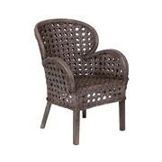 Jeffan Sahara Arm Chair; Grey