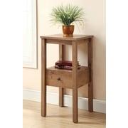 Hokku Designs Waldon End Table; Rustic Oak