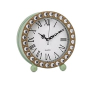 Woodland Imports Jeweled Table Clock