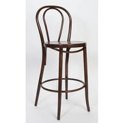 Alston Milan 30'' Bar Stool; Mocha