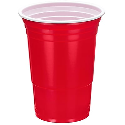 VonShef 16 oz. Plastic Cup (Pack of 50) WYF078279158332