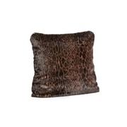 FABULOUS-FURS Signature Series Faux fur Throw Pillow; 24'' H x 24'' W