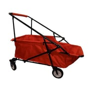 ImpactCanopy Folding Wagon Utility Cart; Red