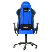 Merax High-Back Executive Office Chair with Arms; Blue