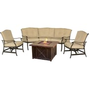 Cambridge Concord 4 Piece Deep Seating Group with Cushion