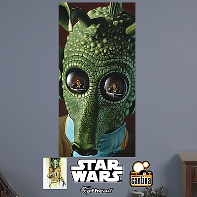 Fathead Star Wars Greedo Peel and Stick Wall Mural WYF078278047777