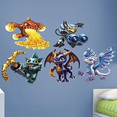 Fathead Skylanders Activision Core Peel and Stick Wall Decal WYF078278047783