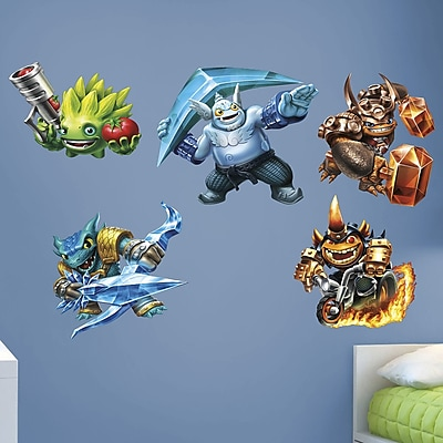 Fathead Skylanders Activision Trap Team Peel and Stick Wall Decal WYF078278047784