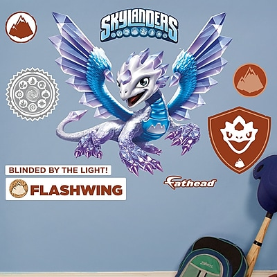 Fathead Skylanders - Activision - Flashwing Junior Peel and Stick Wall Decal WYF078278047788