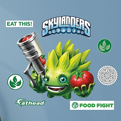 Fathead Skylanders Activision - Food Fight Junior Peel and Stick Wall Decal WYF078278047798